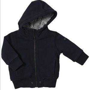 Diesel Baby Boys Sherpa Lined Zip Hoodie